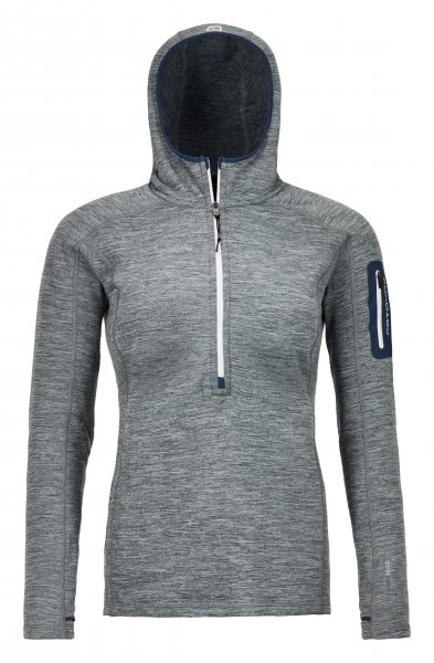 Ortovox FLEEGE LIGHT MELANGE ZIP NECK