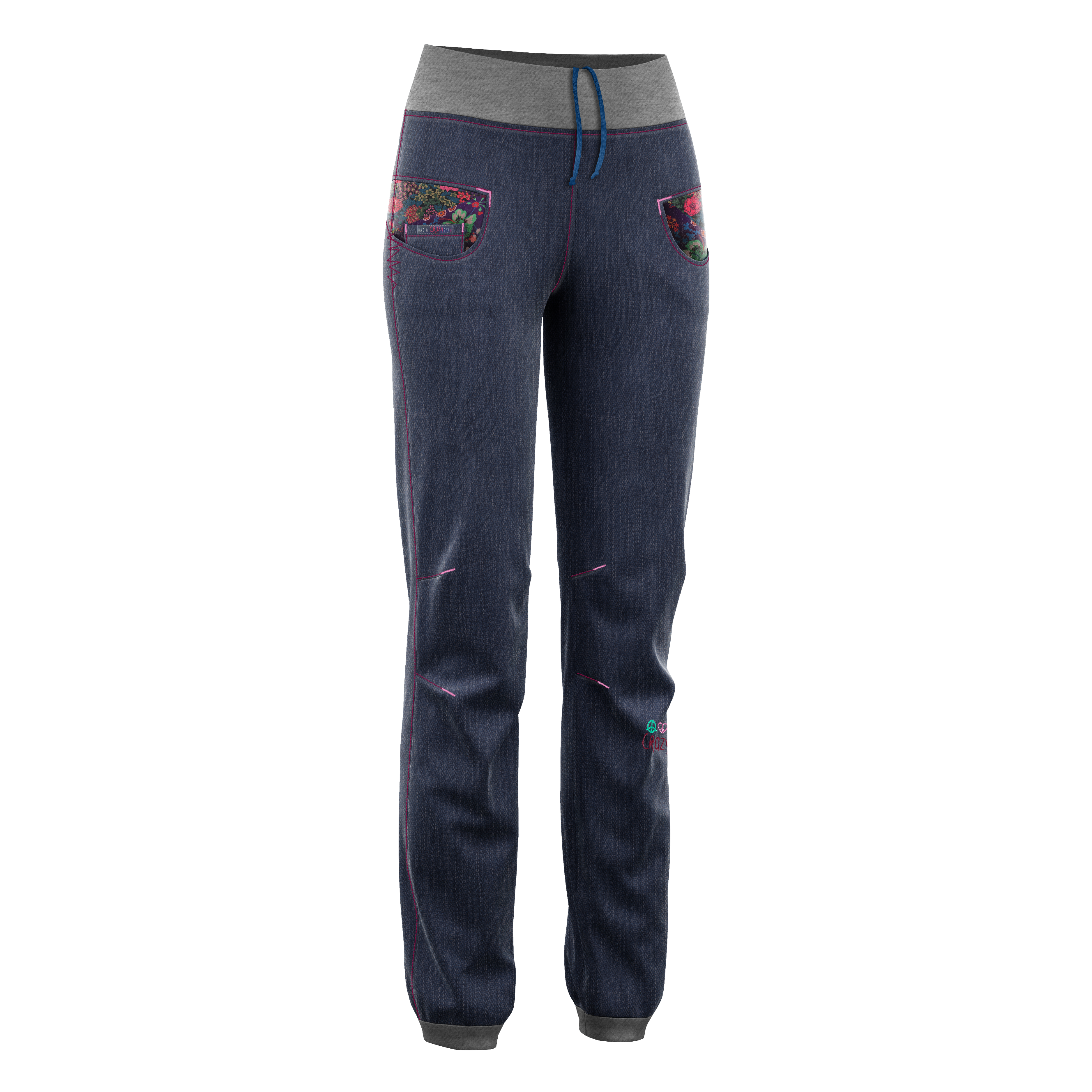 Crazy Idea PANT ARIA LIGHT WOMAN JEANS STAMPA