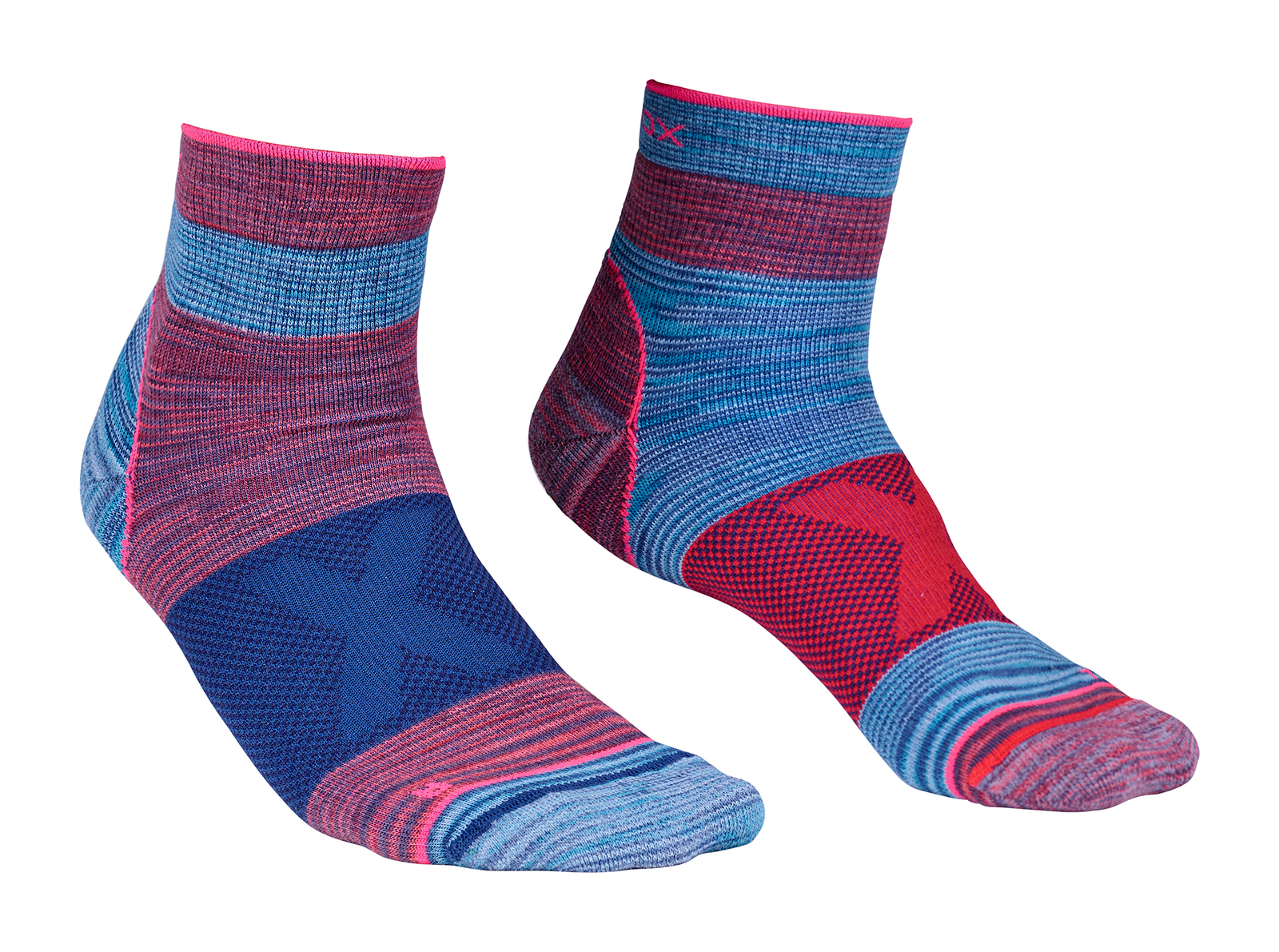 Ponožky Alpinist Quarter Socks Hot Coral