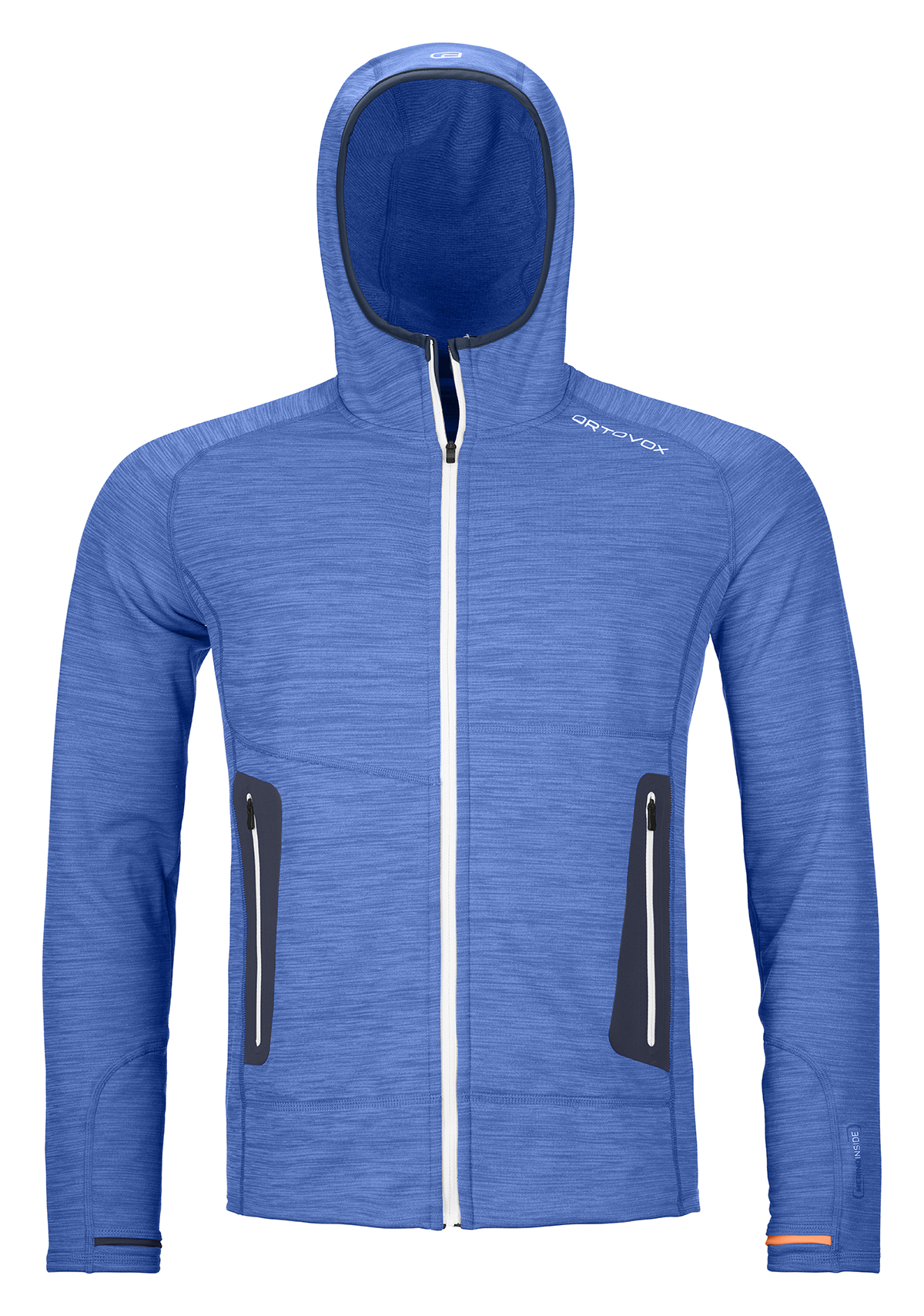 ORTOVOX Fleece Light Hoody Just Blue Blend