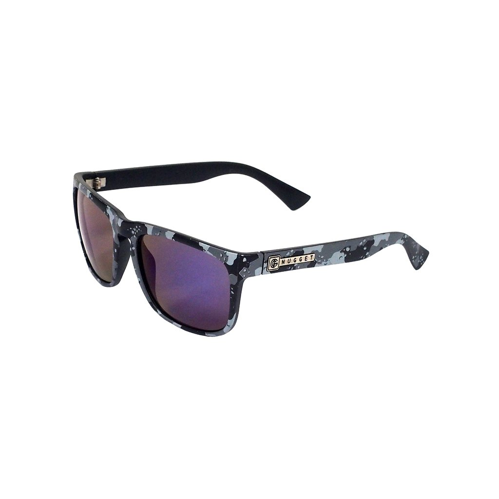 NUGGET SHELL SUNGLASSES A - BLACK