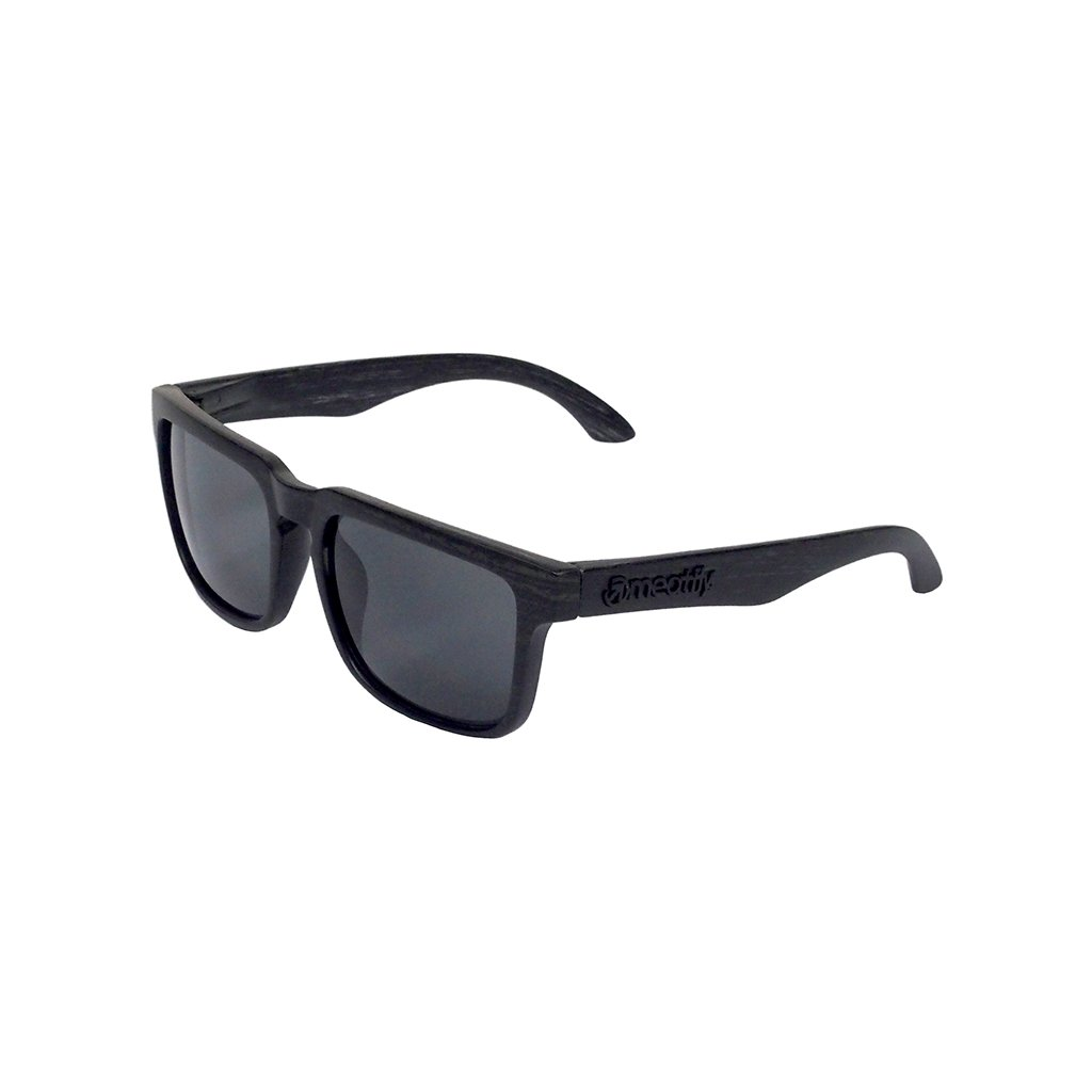 MEATFLY CRAFT SUNGLASSES A - BLACK WOOD
