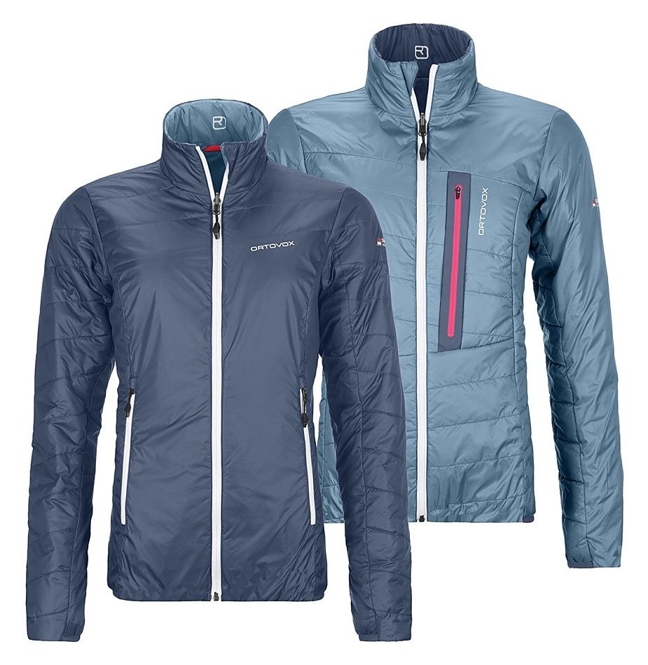 Bunda Ortovox W's Piz Bial Jacket Night Blue