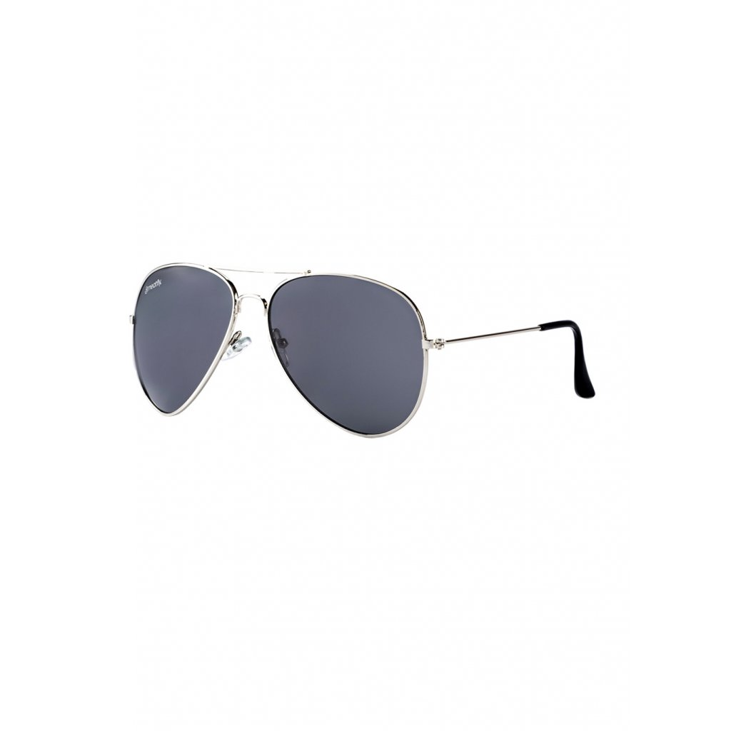 MEATFLY SCOTT SUNGLASSES A - SILVER, BLACK