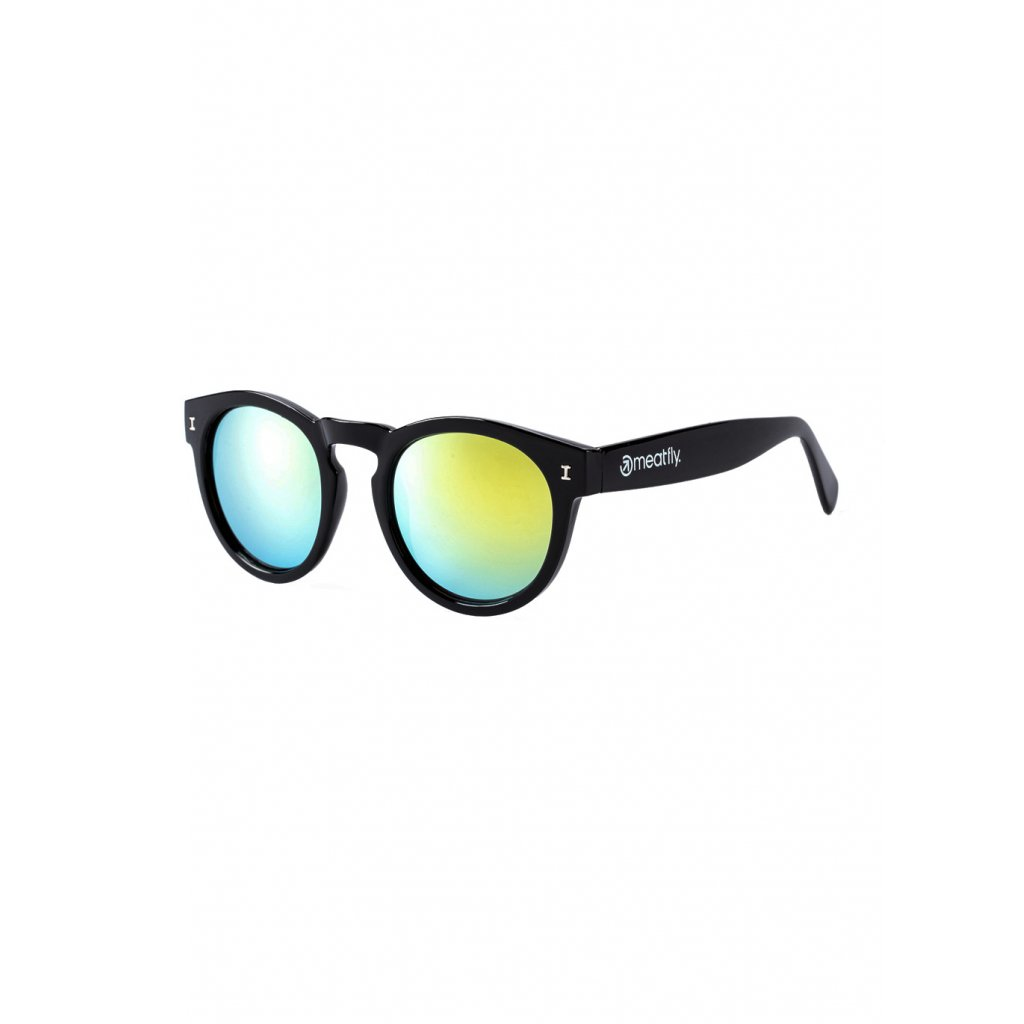 MEATFLY POMPEI SUNGLASSES A - BLACK