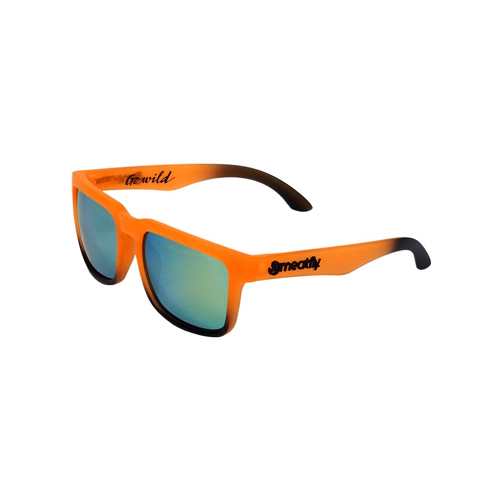 MEATFLY CLASS SUNGLASSES I - ORANGE, BLACK
