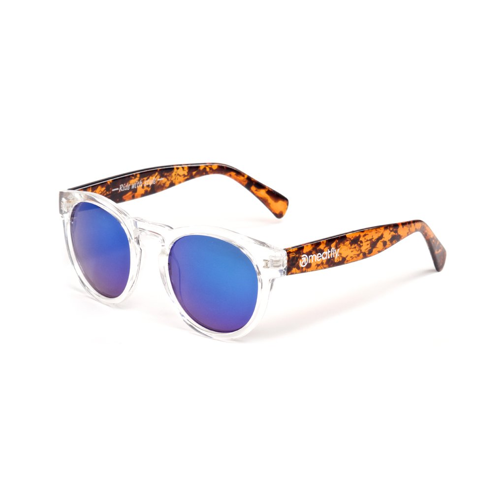 MEATFLY LUNARIS SUNGLASSES 16 D-TRANSPARENT/FLECK