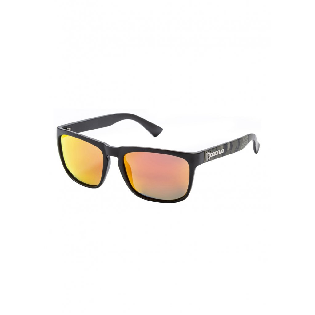 NUGGET SPIRIT 2 SUNGLASSES C - BLACK, OAK CAMO