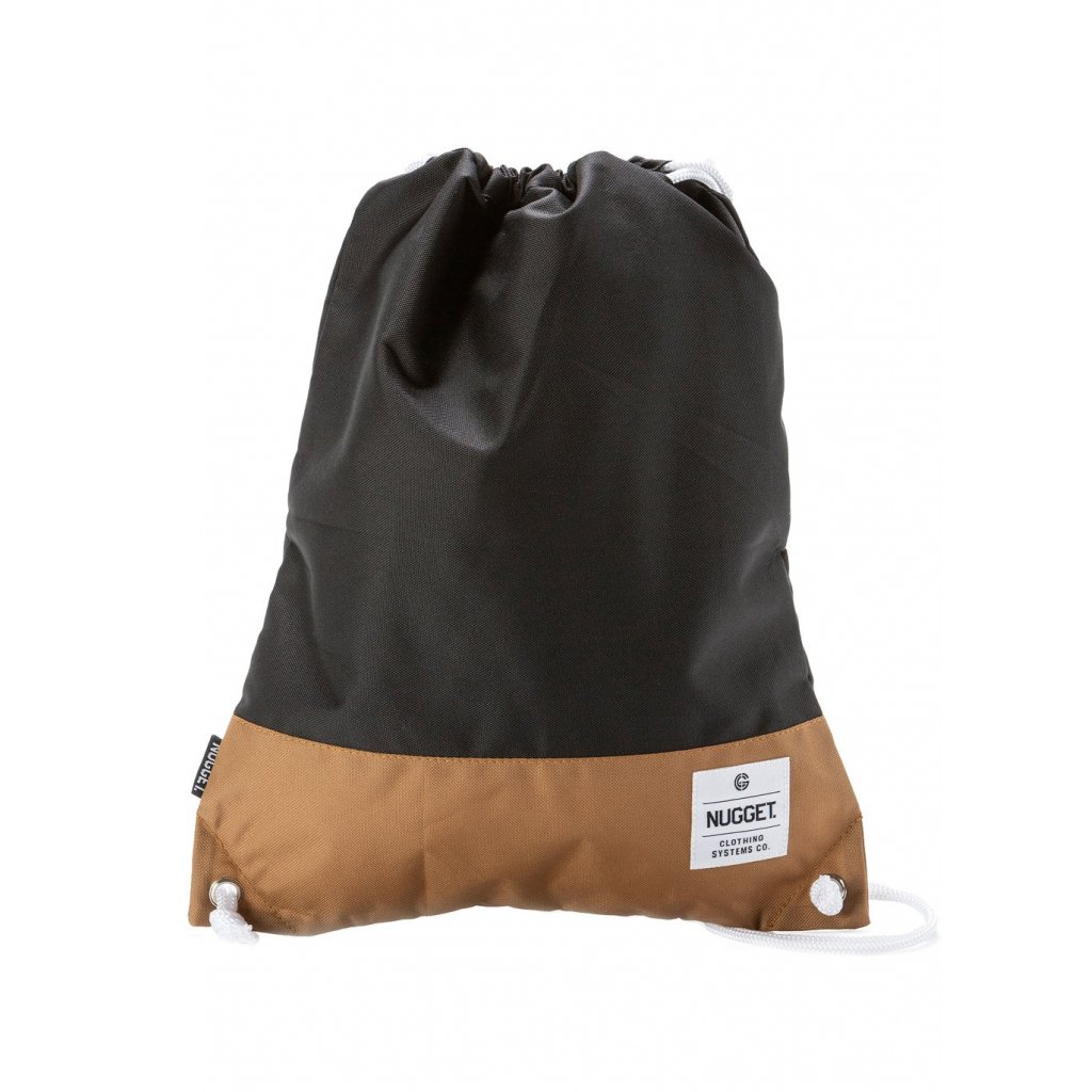NUGGET LATTE 3 BENCHED BAG A - BLACK, BROWN