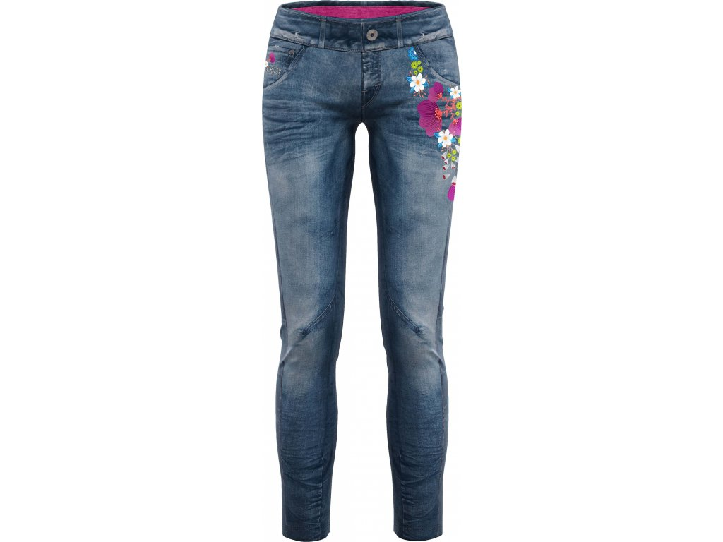 CRAZY IDEA PANT WONDER MAGIC WO PRINT ALPIN FLOWER