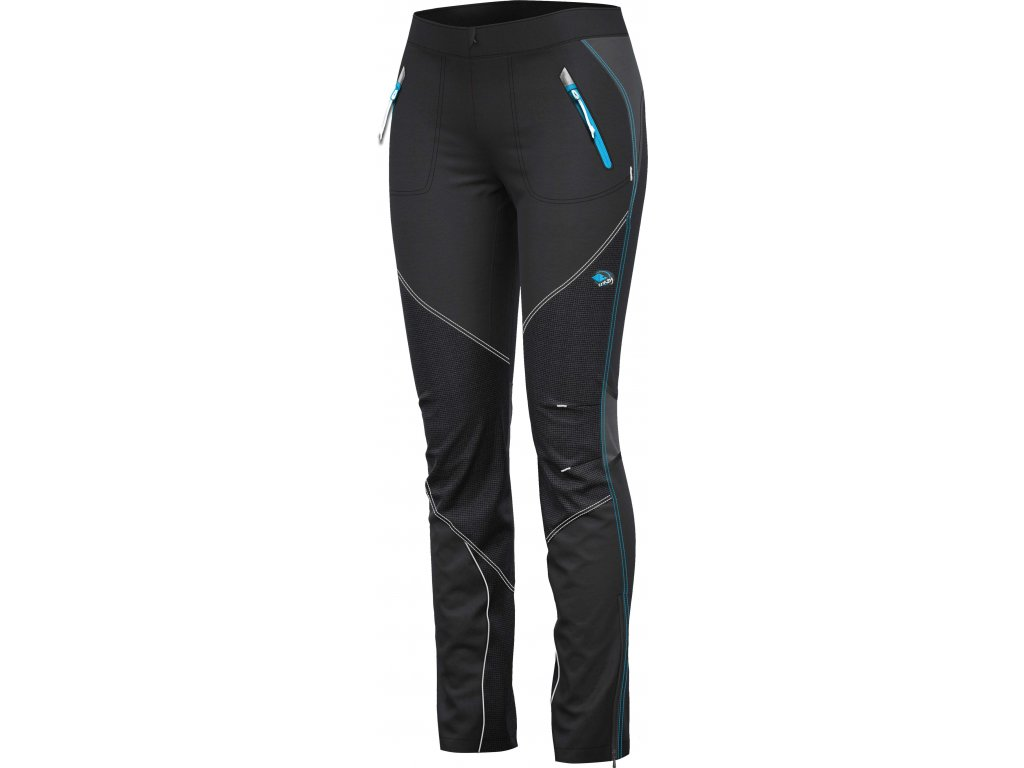 CRAZY IDEA PANT B-SIDE WO BLACK LAGUNA
