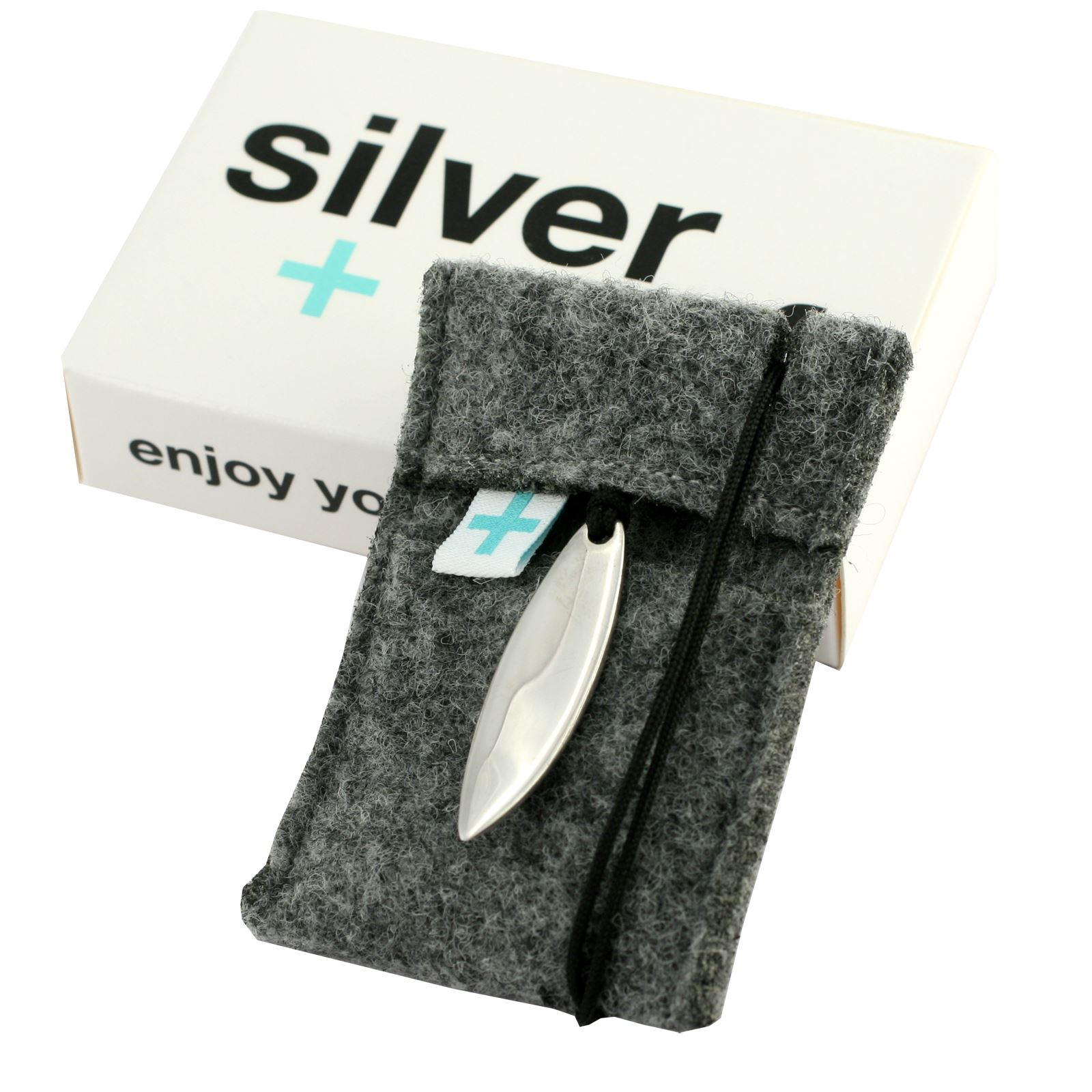 Silver+Surf Jewellery Surfboard M Pure
